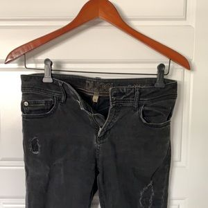 DL1961   Intentionally distressed skinny jeans